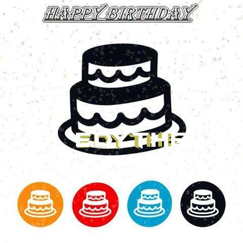 Happy Birthday Edythe Cake Image
