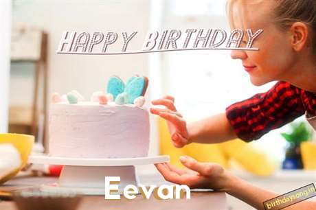 Happy Birthday Eevan Cake Image