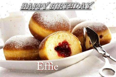 Happy Birthday Wishes for Effie