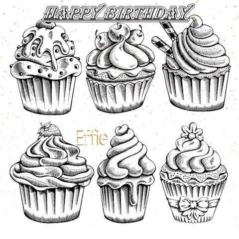 Happy Birthday Cake for Effie