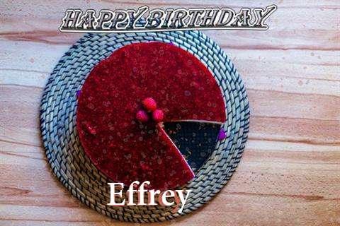 Happy Birthday Wishes for Effrey