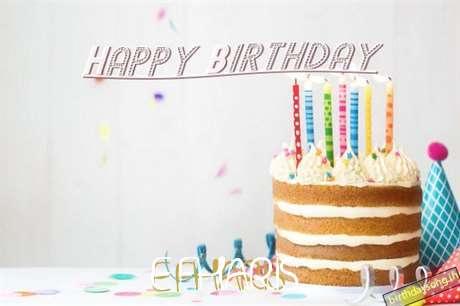 Happy Birthday Efharis Cake Image