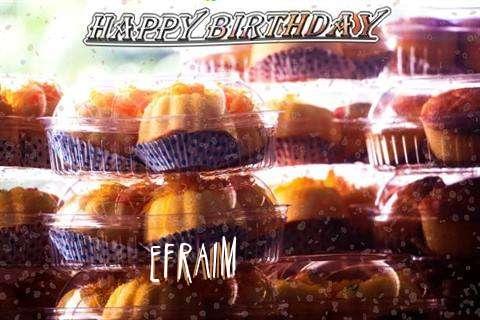Happy Birthday Wishes for Efraim
