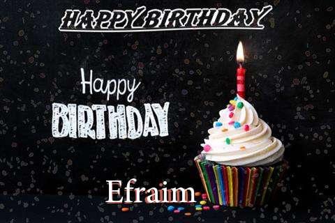 Happy Birthday to You Efraim