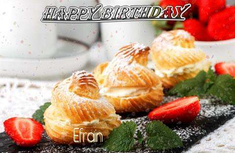 Happy Birthday Efrain Cake Image
