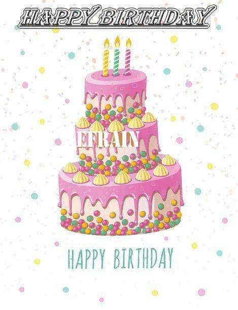 Happy Birthday Wishes for Efrain
