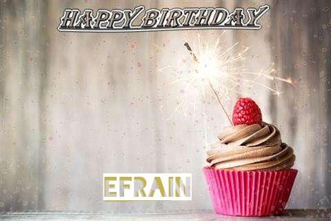 Happy Birthday to You Efrain
