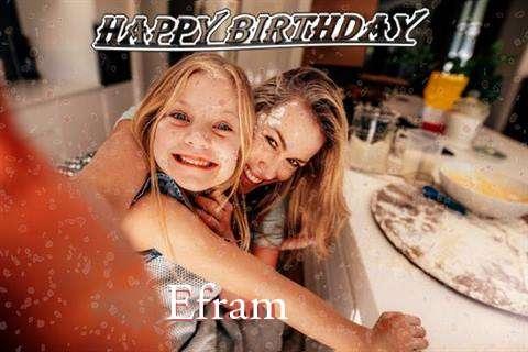 Happy Birthday Efram