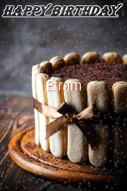 Efram Birthday Celebration