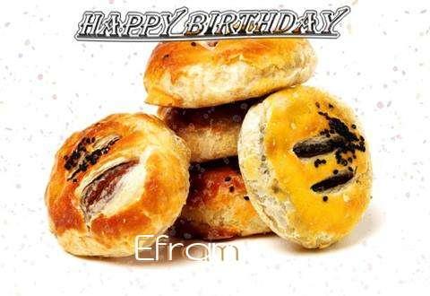 Happy Birthday to You Efram