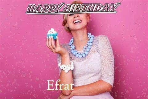 Happy Birthday Wishes for Efrat