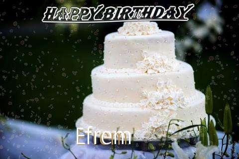 Birthday Images for Efrem