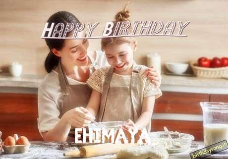 Birthday Wishes with Images of Ehimaya