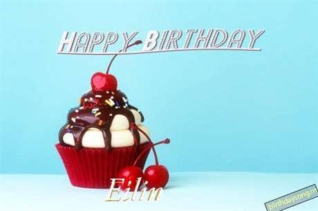 Happy Birthday Eilin Cake Image