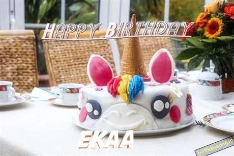 Happy Birthday Cake for Ekaa