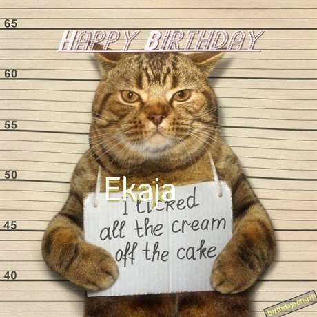Happy Birthday Cake for Ekaja