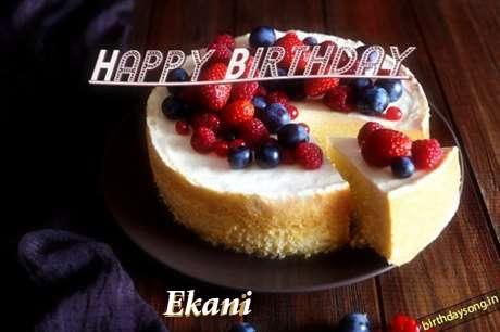 Happy Birthday Wishes for Ekani