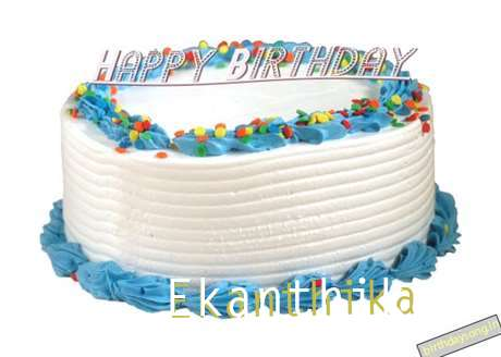 Happy Birthday Ekanthika