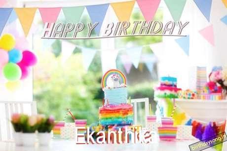 Birthday Wishes with Images of Ekanthika