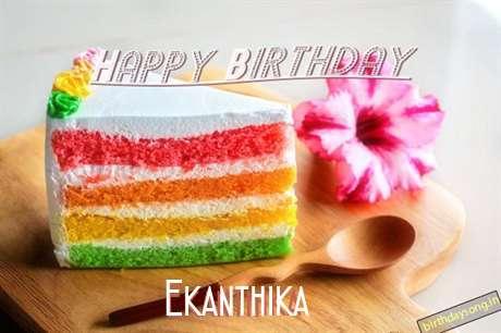 Happy Birthday Ekanthika Cake Image