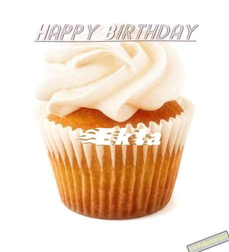 Happy Birthday Wishes for Ekta