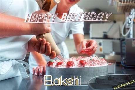 Birthday Wishes with Images of Elakshi