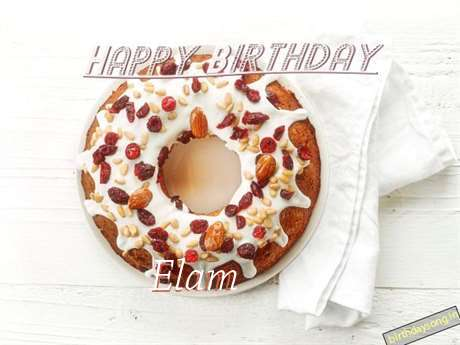 Happy Birthday Wishes for Elam