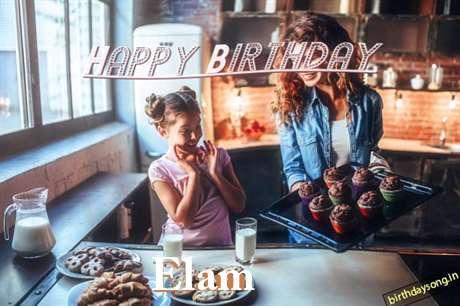 Happy Birthday to You Elam