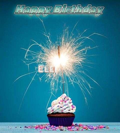 Happy Birthday Wishes for Elli