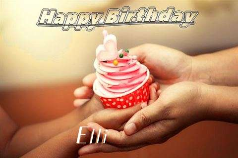 Happy Birthday to You Elli