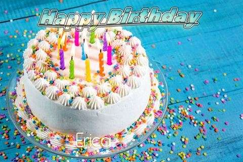 Happy Birthday Wishes for Erica