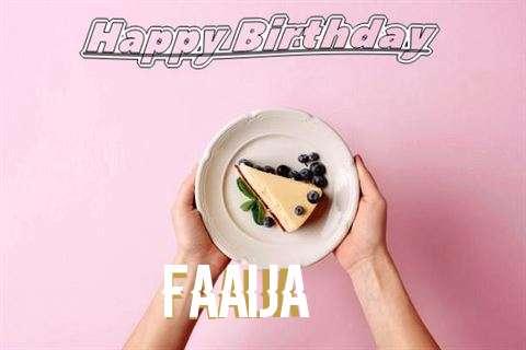 Faaija Birthday Celebration