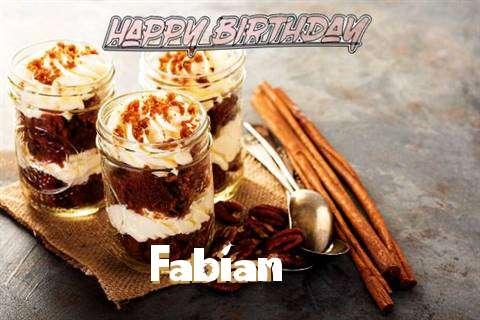 Fabian Birthday Celebration