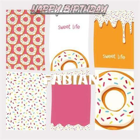 Happy Birthday Cake for Fabian