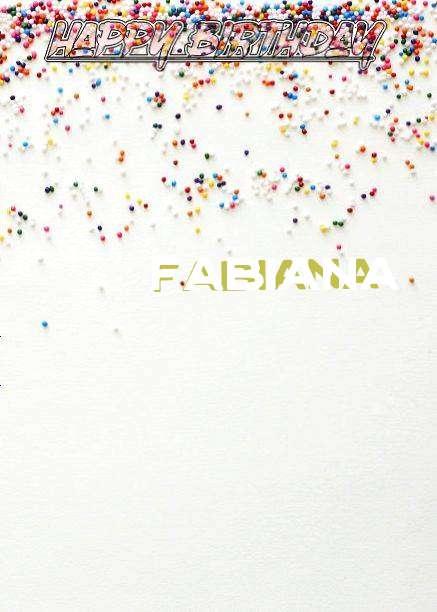 Happy Birthday Fabiana