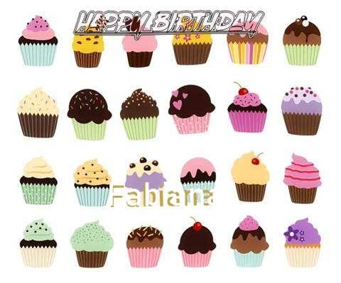 Happy Birthday Wishes for Fabiana