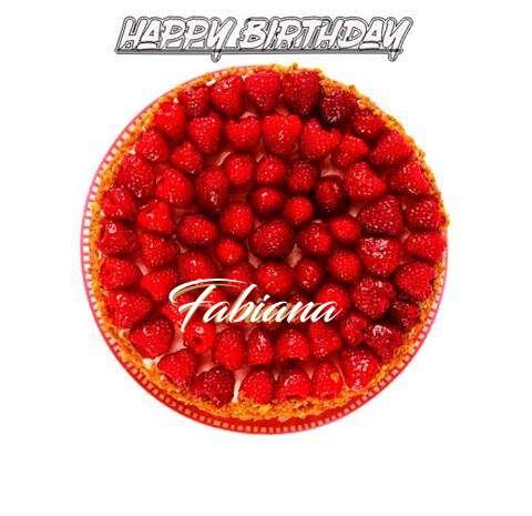 Happy Birthday to You Fabiana