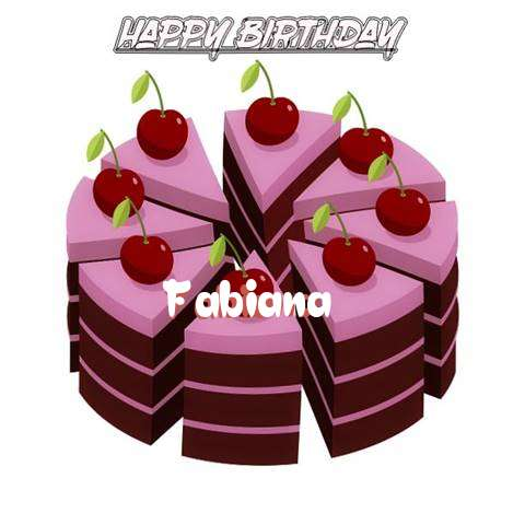 Happy Birthday Cake for Fabiana