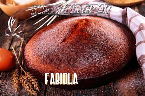 Happy Birthday Fabiola Cake Image