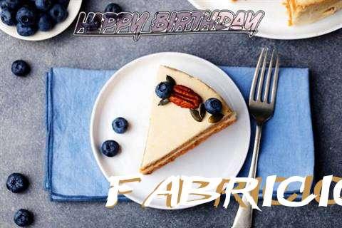 Happy Birthday Fabricio Cake Image