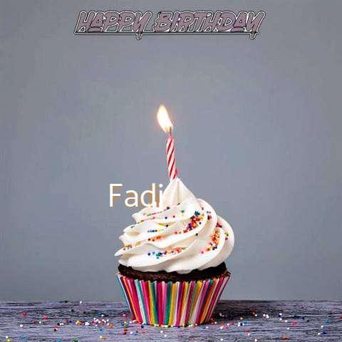 Happy Birthday to You Fadi