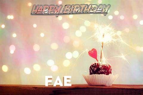 Fae Birthday Celebration
