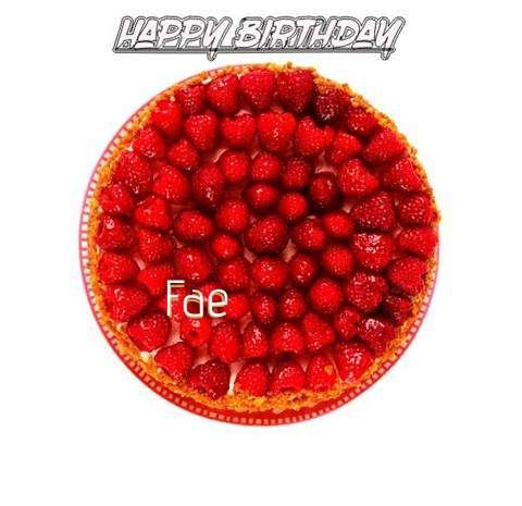 Happy Birthday to You Fae