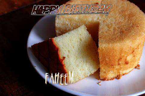 Happy Birthday to You Faheem