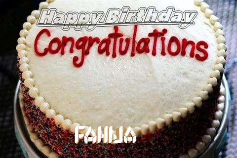 Happy Birthday Fahija