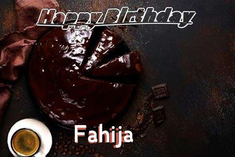 Happy Birthday Wishes for Fahija