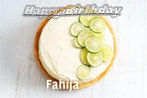 Happy Birthday to You Fahija