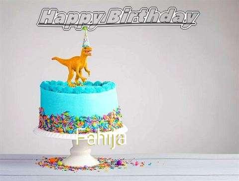 Happy Birthday Cake for Fahija