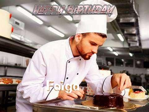 Happy Birthday to You Faiga