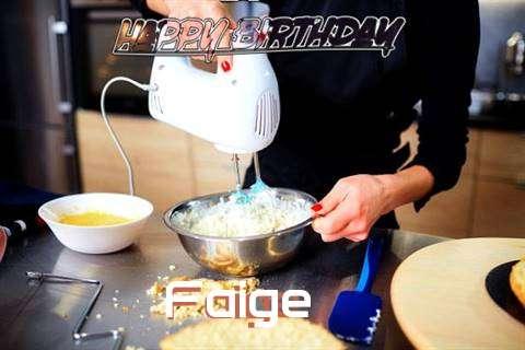 Happy Birthday Faige